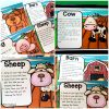 These fun farm yoga cards are great for incorporating movement into the classroom! Kids will love these fun poses pretending to be cows, pigs, sheep and more! Great for preschool, kindergarten and up.
