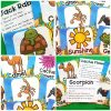 These fun desert yoga cards and printables are a great activity to incorporate movement into the day. Kids will love these fun poses and are great for preschool, kindergarten and up.