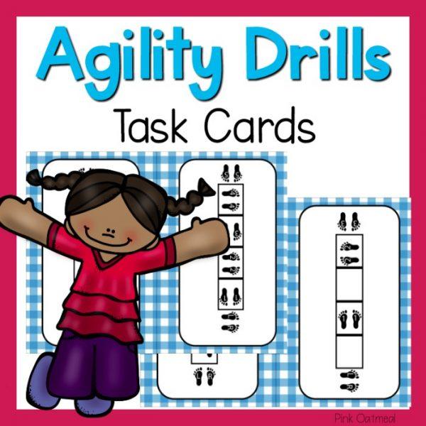 Agility Drills Task Cards