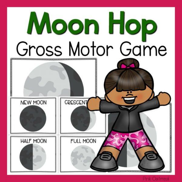 Moon Hop Gross Motor Game Cover