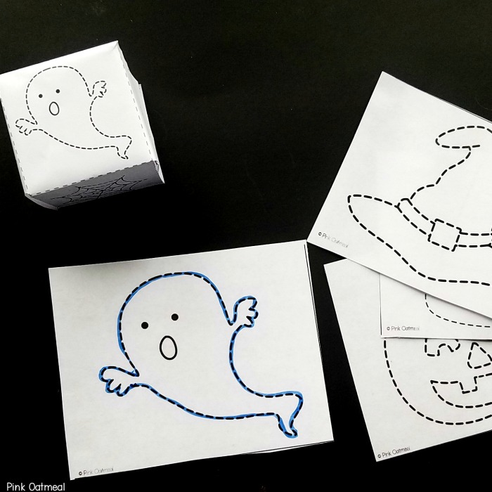 Halloween Fine Motor Tracing Activity