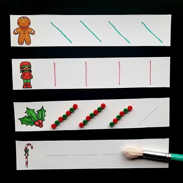 Christmas Fine Motor Activities Pre Writing