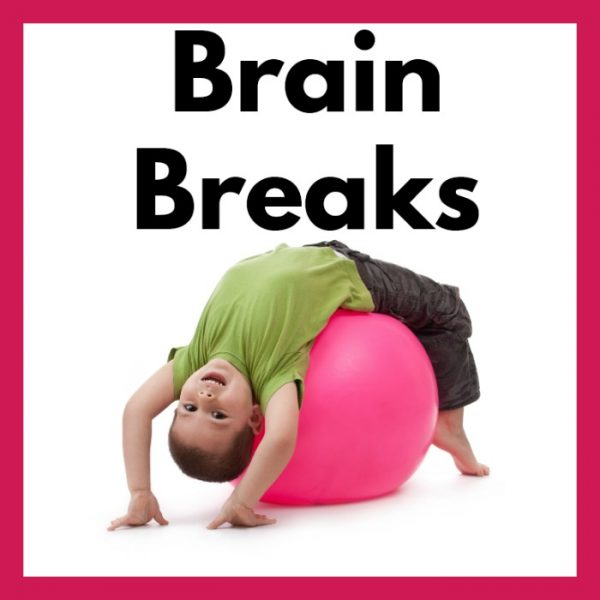 Brain Break Cards and Printables