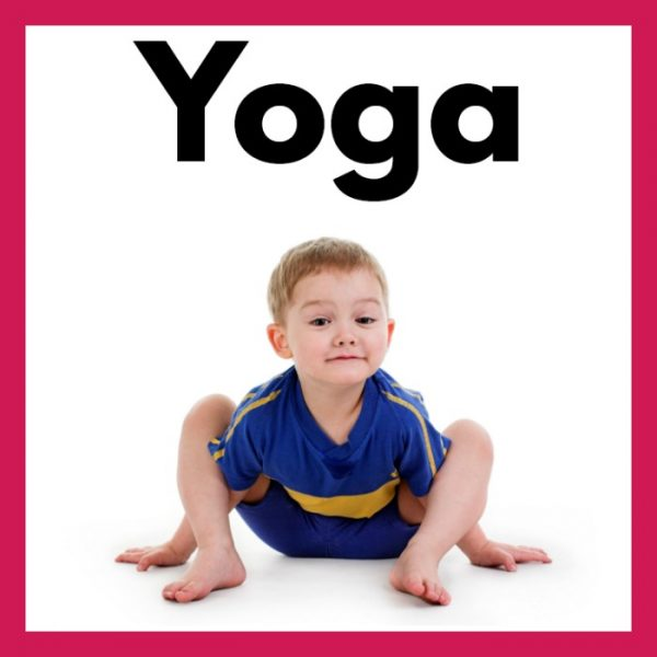 Kids Yoga Cards and Printables