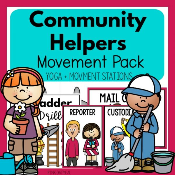 Community Helpers Movement Pack