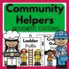 Community helpers movement stations