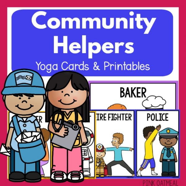 Community Helpers Yoga