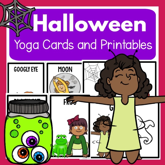Image result for halloween yoga for kids
