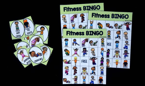 Fitness Bingo Pink Oatmeal Shop
